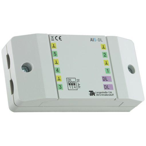 AI5-DL Bemenet bővítő modul (0-10V)