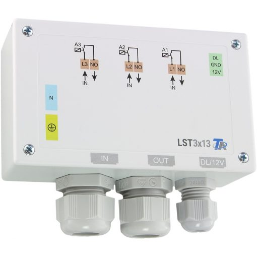 LST3x13-DL Teljesítményszabályozó 3x3000W