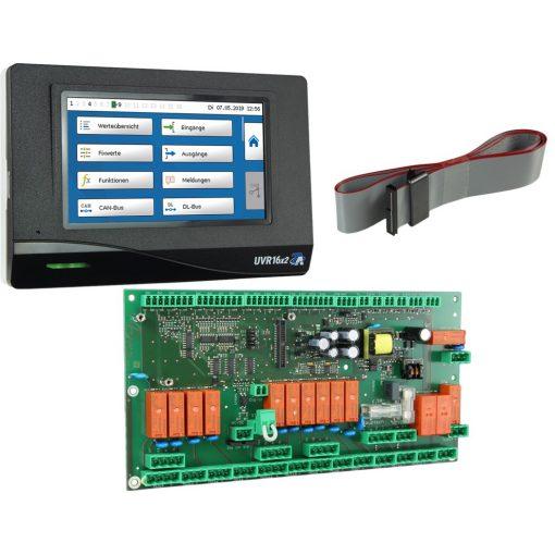 UVR16x2E-DE-I - tápegység processzor modullal