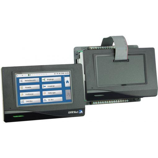 UVR16x2S-DE - vezérlő külső kezelőegységgel