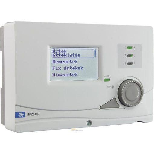 UVR610K szabadon programozható szabályozó és vezérlő - falra szerelhető