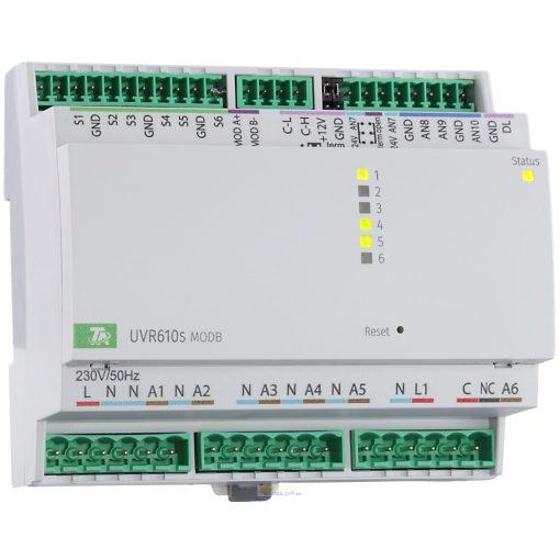 UVR610S-OD- MODB szabadon programozható szabályozó és vezérlő - Modbus csatlakozóval - kijelző nélkül