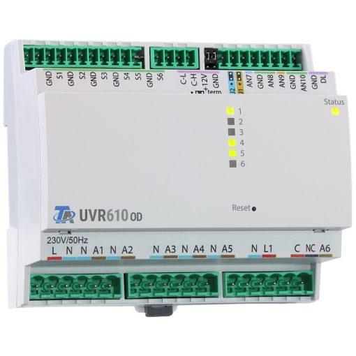 UVR610S-OD  szabadon programozható szabályozó és vezérlő